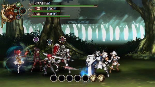 Terlihat seperti Valkyrie Profile? Fallen Legion punya sistem pertarungan yang lebih intens.