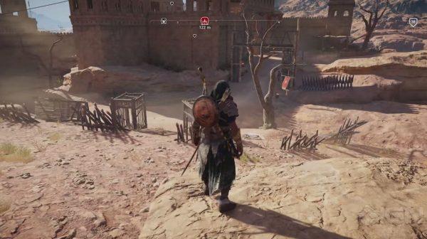 Lewat video terbaru bersama IGN, Ubisoft memperlihatkan skenario aksi Bayek di level tinggi dengan rangkaian equipment langka.