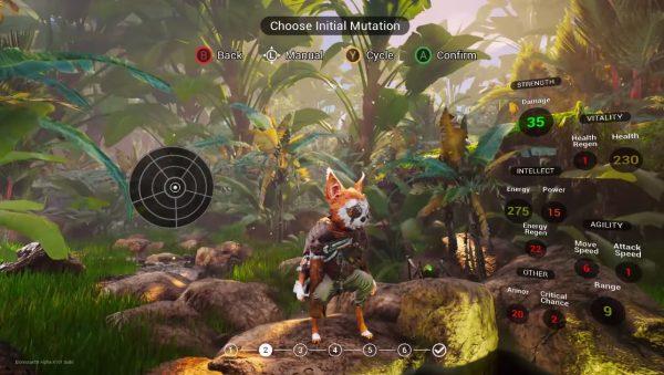 Biomutant memperlihatkan gameplay berdurasi 11 menit dari build alpha yang ada.