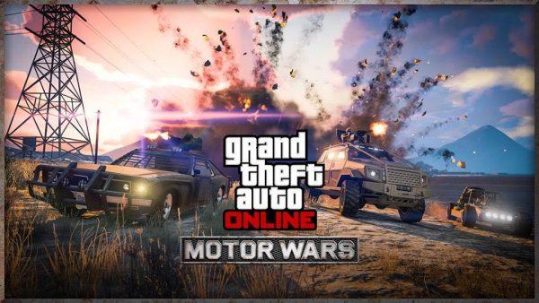 """Lewat mode bernama """"Motor Wars"""", GTA Online menawarkan gameplay serupa ala PUBG."""