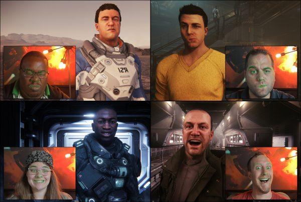 Teknologi Faceware di Star Citizen akan memungkinkan karakter untuk mengikuti gerak wajah gamer secara real-time.