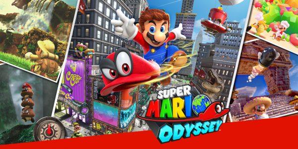 Super Mario Odyssey mendominasi penghargaan Gamescom 2017.