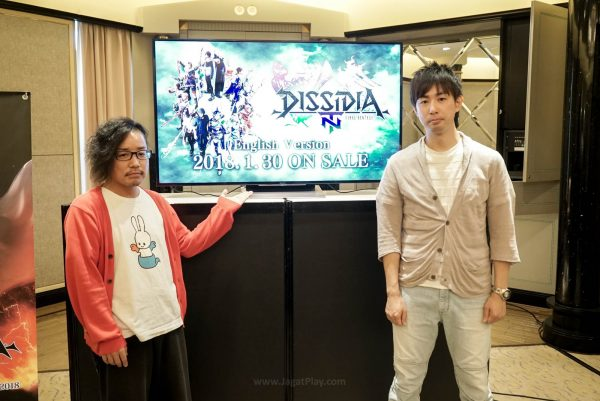 Akihiro Suzuki dan Takeo Kujiraoka - Dua otak di balik Final Fantasy Dissidia NT