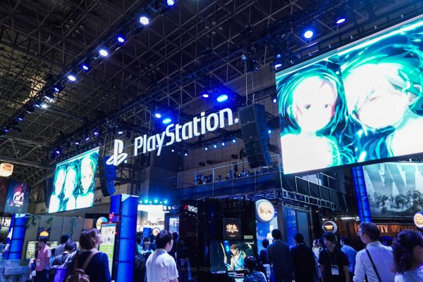 Booth Playstation!