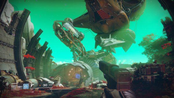 Semi open-world, tiap dunia di Destiny 2 kini terlihat lebih luas dan terbuka.