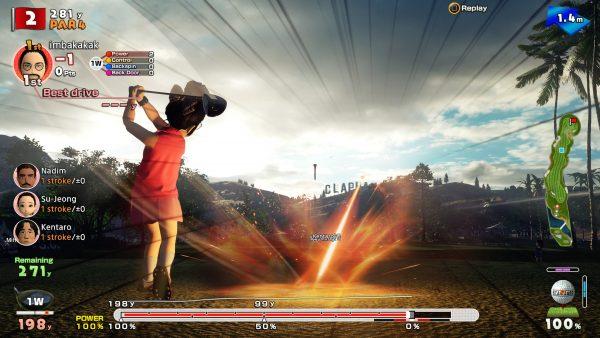 Cerita mungkin bukan hal penting untuk game seperti ini, namun bukan berarti Everybody's Golf tidak menawarkan itu.