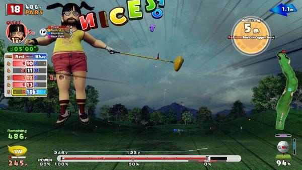 Mode online juga sayangnya, memberikan perspektif pada proses grinding yang harus diakui, esensial di Everybody's Golf ini.