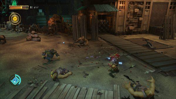 """Tidak lagi """"terkunci"""" pada cerita, ukuran tubuh Knack kini memainkan peran lebih penting dalam gameplay."""