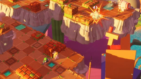 Mario Rabbids Kingdom Battle jagatplay part 1 (100)