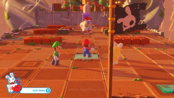 Mario Rabbids Kingdom Battle jagatplay part 1 (105)