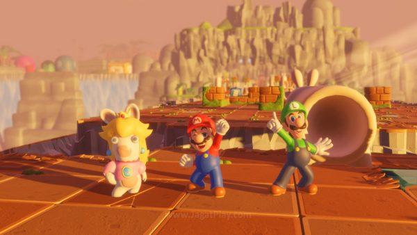 Bukan game platformer, bukan game adventure, kolaborasi ini berakhir menjadi game strategi ala XCOM!