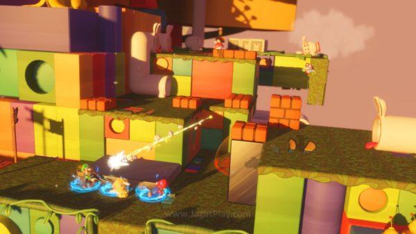 Mario Rabbids Kingdom Battle jagatplay part 1 (114)