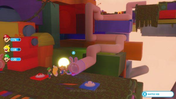 Mario Rabbids Kingdom Battle jagatplay part 1 (119)
