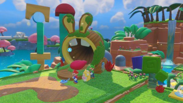 Mario Rabbids Kingdom Battle jagatplay part 1 (165)