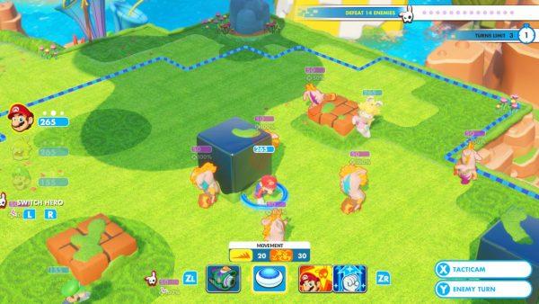 Mario Rabbids Kingdom Battle jagatplay part 1 (167)