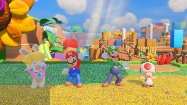 Mario Rabbids Kingdom Battle jagatplay part 1 (178)