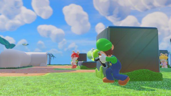 Tidak sekedar berbeda bentuk, tiap karakter juga punya senjata, skill, dan kemampuan berbeda saat bergerak.
