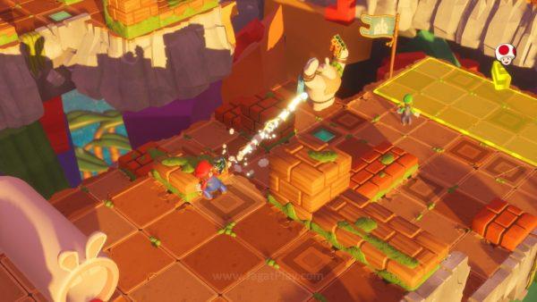 Mario Rabbids Kingdom Battle jagatplay part 1 (221)