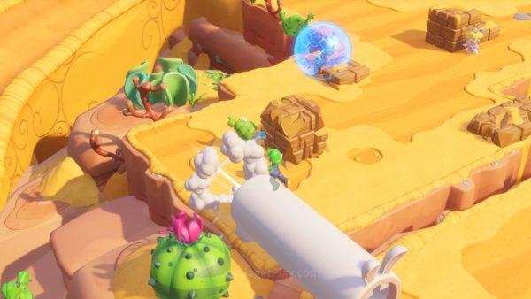 Mario Rabbids Kingdom Battle jagatplay part 1 (227)