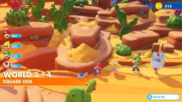 Mario Rabbids Kingdom Battle jagatplay part 1 (249)
