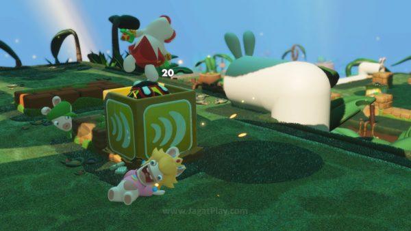 Mario Rabbids Kingdom Battle jagatplay part 1 (46)