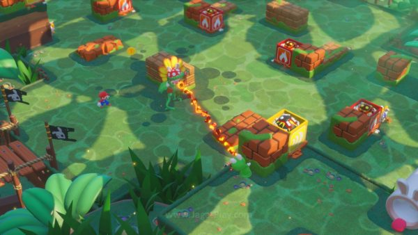 Mario Rabbids Kingdom Battle jagatplay part 1 (59)