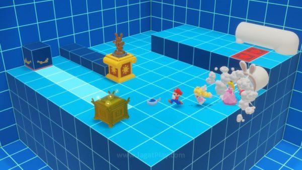 Ada area rahasia dengan puzzle yang bisa Anda selesaikan untuk reward.