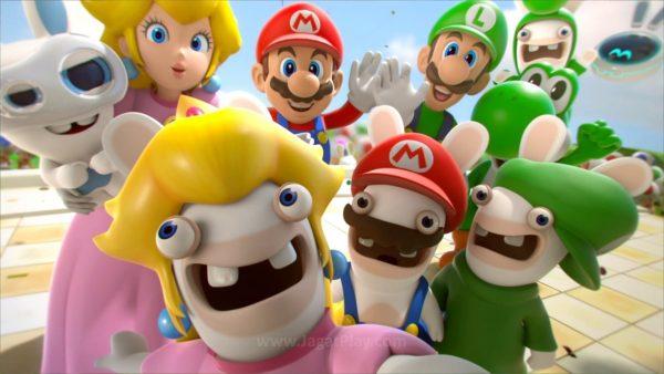 Tiap karakter Rabbids dan Mario yang ada tetap mempertahankan karakteristik mereka.