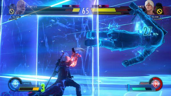 """Hadir dengan bar powernya masing-masing, Anda bisa masuk ke dalam efek Infinity Storm ketika ia penuh dalam kapasitas tertentu. Infinity Storm akan mengeluarkan kemampuan Infinity Stone yang """"sebenarnya""""."""