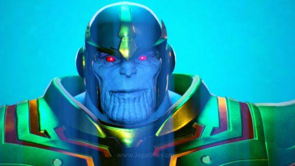 Thanos dan Infinity Stones? Seolah mengisyaratkan bahwa ia adalah seri kelanjutan dari Marvel Super Heroes yang sempat dirilis di tahun 1997 silam.
