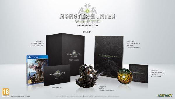 Collector's Edition dengan figure untuk sang monster flagship.