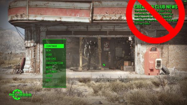 "Modder mulai melemparkan mod gratis via NexusMod untuk ""membunuh"" mod berbayar milik Bethesda - Creation Club."