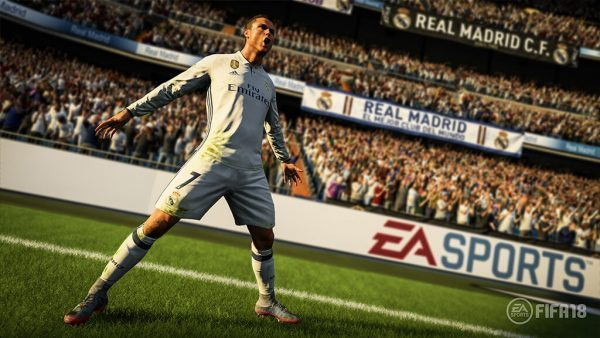 Dilaporkan turun 25% dibandingkan rilis FIFA 17 di minggu pertama, FIFA 18 tetap merajai pasar Inggris minggu lalu.