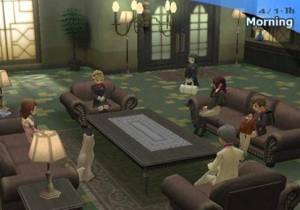Tempat ikonik Persona 3 - Iwatodai Dorm ternyata hadir di data Persona 5, tanpa tekstur.