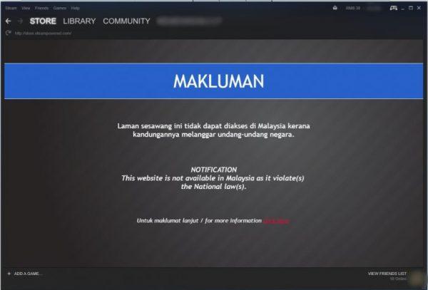 Memuat figur agama penting yang sakral, Malaysia memblokir keseluruhan Steam Store karena game bernama Fight of Gods ini.