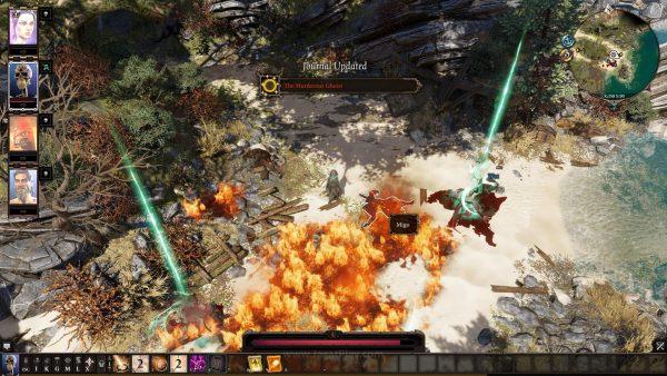 Interaktivitas adalah daya tarik utama dunia yang ditawarkan game RPG racikan Larian Studio ini.