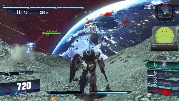 """Atmosfer arena pertempuran yang """"Gundam sekali"""""""