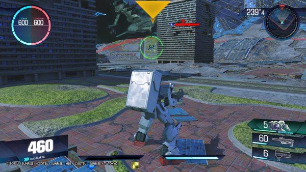 Gundam akan terbagi ke dalam beberapa fokus serangan: range, melee, dan balance.