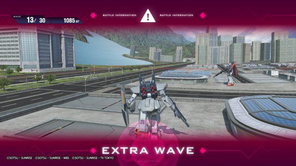 """Mode ini terkadang memicu konten """"Extra Wave"""" yang terkadang memuat konten multiplayer bersama user yang lain."""
