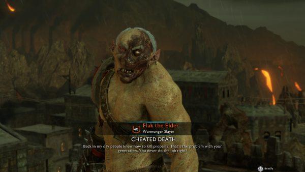 Para Orc / Uruk-hai dengan beragam karakteristik visual dan kepribadian, sekaligus baris dialog, membuat setiap dari mereka terasa unik.
