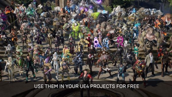 Epic Games Lepas Aset Unreal Engine 4 dari Paragon Secara Gratis