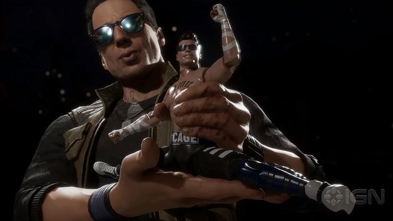 Mortal Kombat 11 Unjuk Johnny Cage