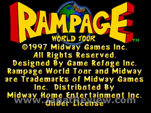Rampage World Tour 2