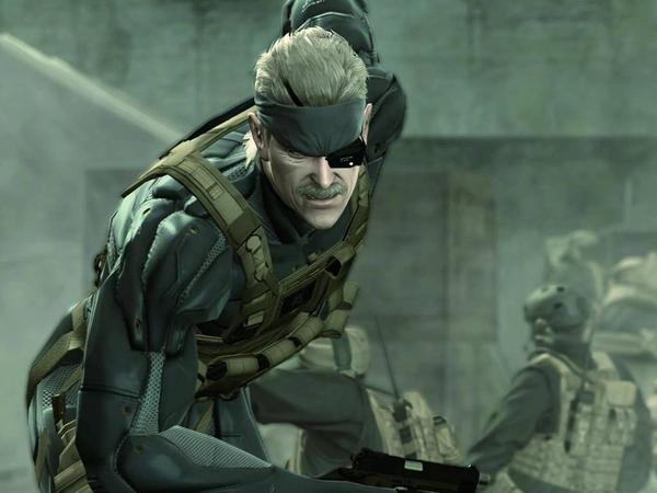 solid snake mgs 4