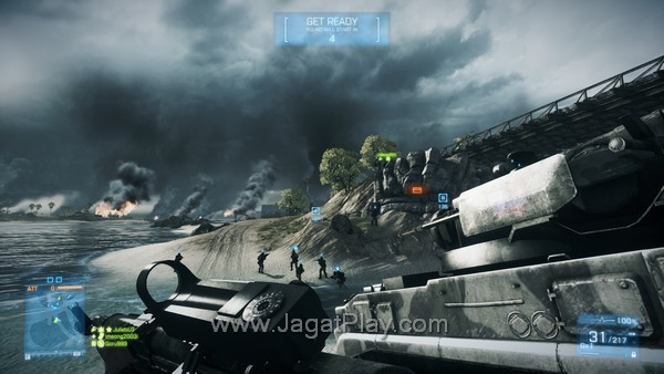 Battlefield 3 Back to Karkand Wake Island 11