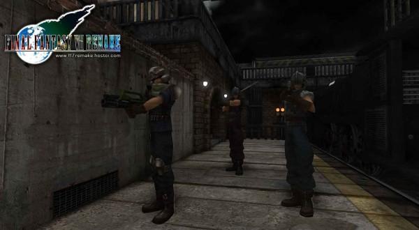 FF VII Remake Soldier