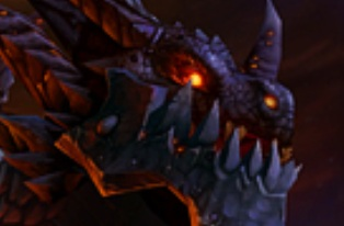 World of Warcraft Deathwing Face