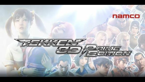 tekken 3d prime edition logo