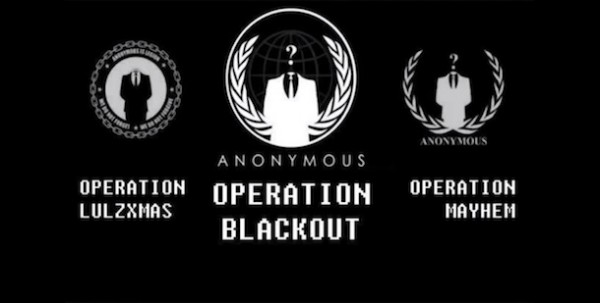 anonymous operation blackout mayhem lulzxmas