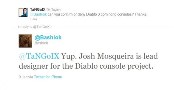 diablo III console confirmed